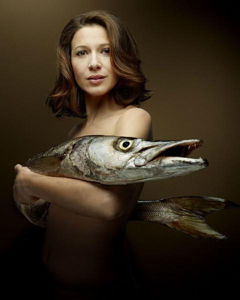 La actriz Caroline Ducey (foto: Denis Rouvre)
