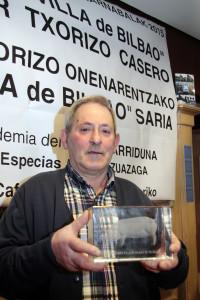 El ganador, José María Aguirre (foto: Txarriduna)