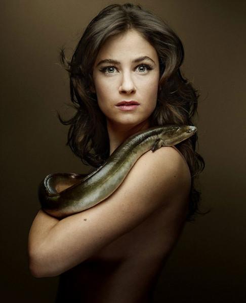 La actriz Melanie Bernier (foto: Denis Rouvre)