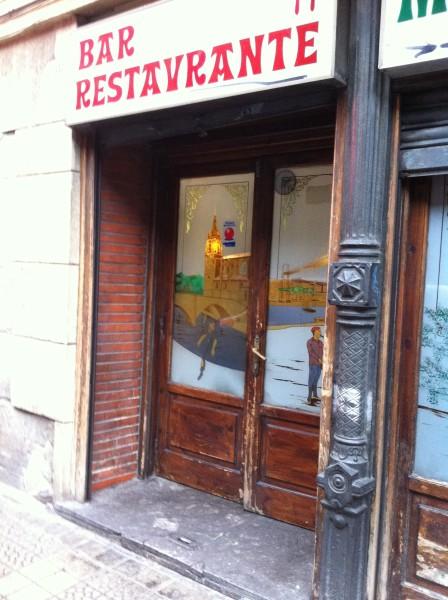 Acceso principal al Restaurante Miren Itziar (foto: Cuchillo)