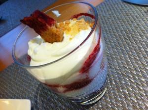Cheesecake a la Prêt à Porter (foto: Cuchillo)