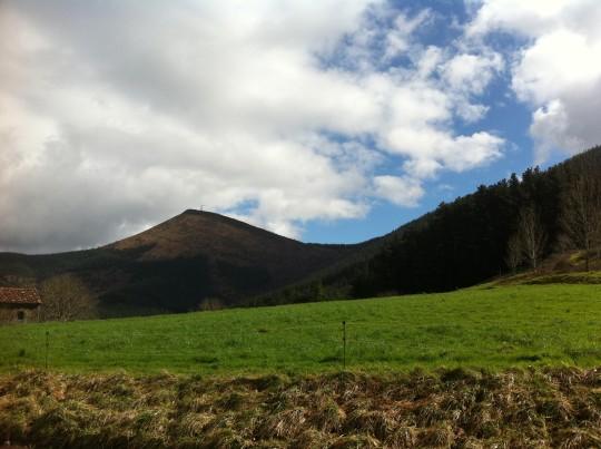 Así es el paisaje que rodea a Urrutxuko Erretegia (foto: Cuchillo)