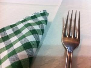 La servilleta, de tela en Urrutxuko (foto: Cuchillo)