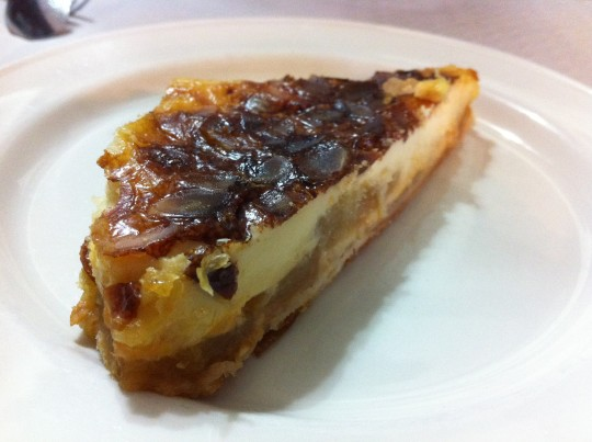 Tarta de manzana, en Urrutxuko Erretegia (foto: Cuchillo)