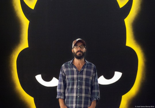 Rechula imagen de Carlos Galán (aka Carlos Subterfuge) tomada por José Carlos Nievas.