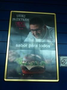El cartel que anuncia la Bibo (foto: Cuchillo)