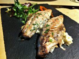 Verdel, plato del día en Satélite T (foto: Cuchillo)