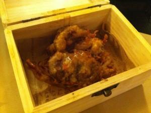 Cangrejo con tierra de foie (foto: Cuchillo)