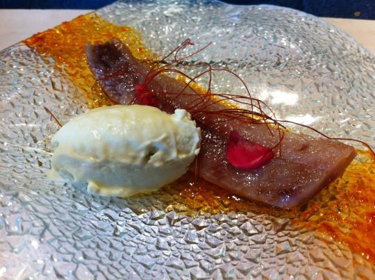 """Lomo de sardina """"de 2014"""" con mojo picón y wasabi, de Gaztelumendi-Antxon (foto: Cuchillo)"""