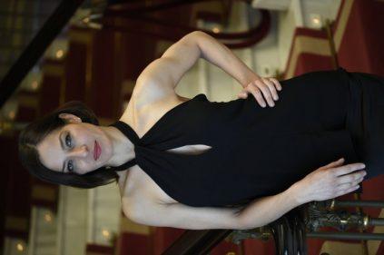 Natalia Millán en el teatro Arriaga (foto: Moreno Esquibel)