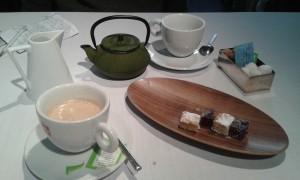 Cafés e infusiones, en Cocinandos (foto: Susana)