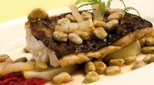 Uno de los platos de El Trillo, en Granada.