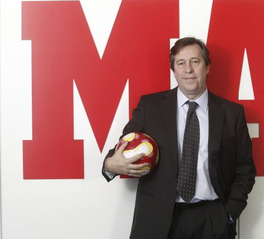 El periodista Santiago Segurola, adjunto al director del diario Marca.