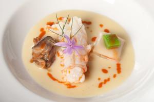 Cigala asada, del restaurante Zuberoa (foto: zuberoa.com)