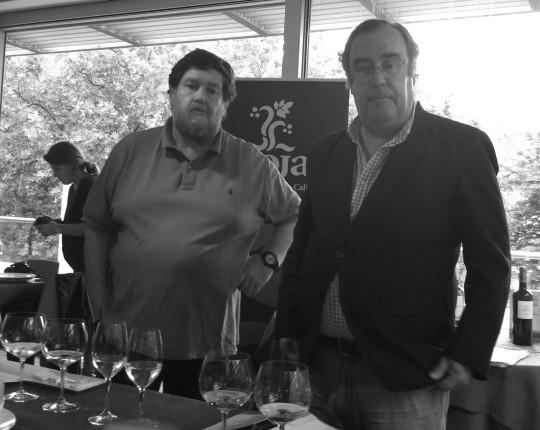Mikel Zeberio y Enrique Calduch, maestros de ceremonia (foto: Cuchillo)