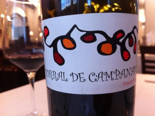 """Corral de Campanas, """"sexy wine"""", buena opción en El Churrasco (foto: Cuchillo)"""