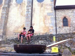 Música y gastronomía, en Mundaka Festival (foto: Cuchillo)