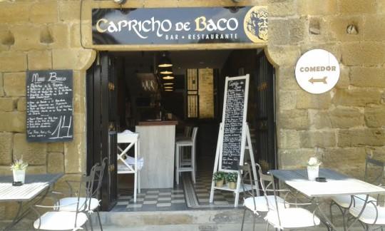 Fachada de Capricho de Baco, en Laguardia (foto: O.C.E.)