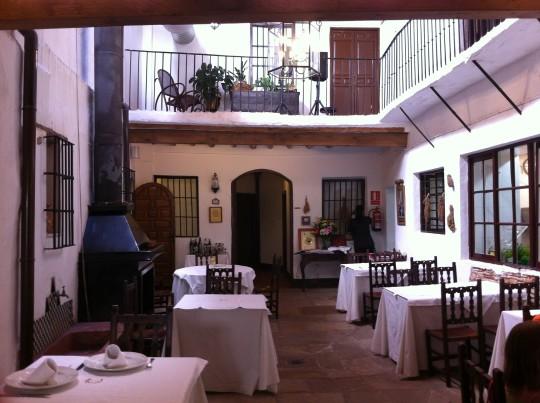 El patio - comedor de Arte de Cozina (foto: Cuchillo)