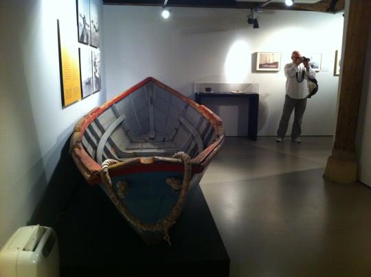 Doris, embarcación muy utilizada por los pescadores portugueses (foto: Cuchillo)