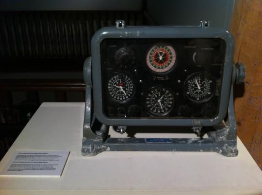 Uno de los instrumentos que se pueden ver en el Museo Naval de Donostia (foto: Cuchillo)