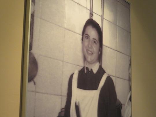 Antonia Cornejo, alma de Casa Zaca, hace unos pocos años (foto de la foto: Cuchillo)