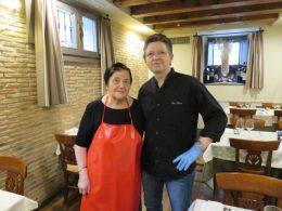 Antonia y Zacarías, cocineros de Casa Zaca (foto: Cuchillo)