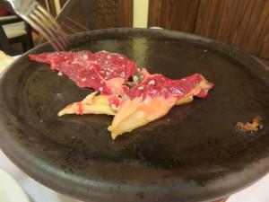 Un restorán en que la carne se sirve cruda (foto: Cuchillo)
