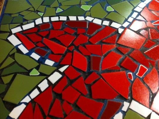 Detalle de las mesas de Muga Taberna (foto: Cuchillo)