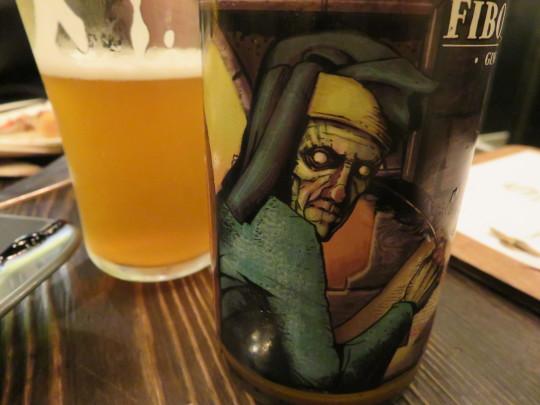 Fibonatxi 0, la ginger season de la cervecera Laugar (foto: Cuchillo)
