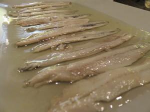 Boquerones en vinagre, de Singular (foto: Cuchillo)