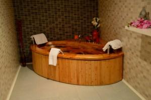 hidroterapia hotel balneario areatza