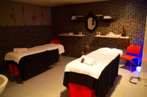 sala de tratatmiento para parejas balneario aretza