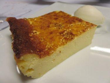 Tarta de queso, buen cierre en Casa Nicolás (foto: Cuchillo)