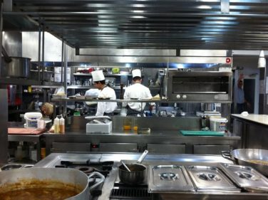Cocina de El Portal del Echaurren (foto: Cuchillo)