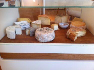 Carro de quesos de El Portal del Echaurren (foto: Cuchillo)