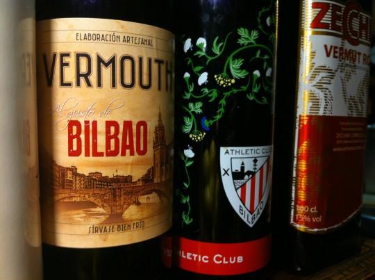 Vermús y vodka, en la misma barra de la taberna Saltsagorri (foto: Cubillo)