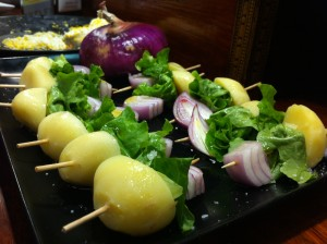 Los grillos del Saltsagorri (foto: Cuchillo)