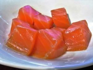 Tacos de lomo de salmón Carpier (foto: Cuchillo)
