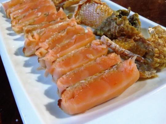 Ventresca y piel de salmón, de Carpier Ahumados (foto: Cuchillo)