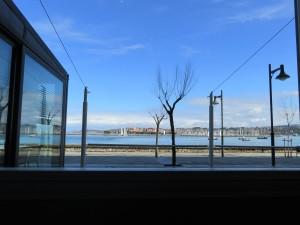 Vista desde el comedor del restaurante Kokarta (foto: Cuchillo)