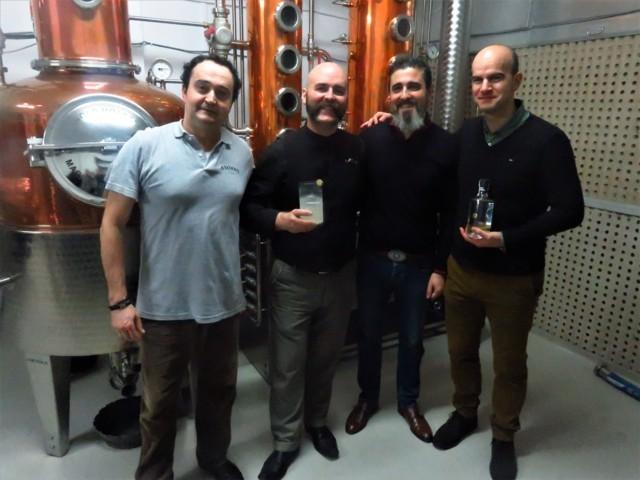 Carlos Ortiz de Zárate, Manu Iturregi, José Luis Navarro y Eduardo Martínez de Murguia (foto: Cuchillo)