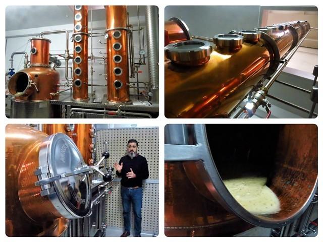 En esta microdestilería se elabora Basmoon Vodka (fotos: Cuchillo)