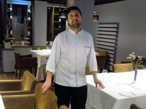 Alberto Molinero, en restaurante Lola (foto: Cuchillo)