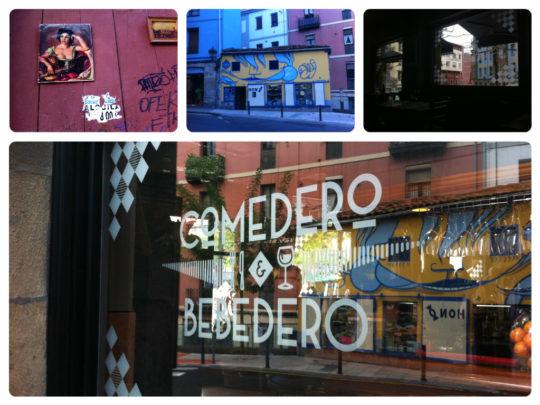 La calle, protagonista en Bilbao la Vieja, el barrio de Peso Neto foto: Cuchillo)