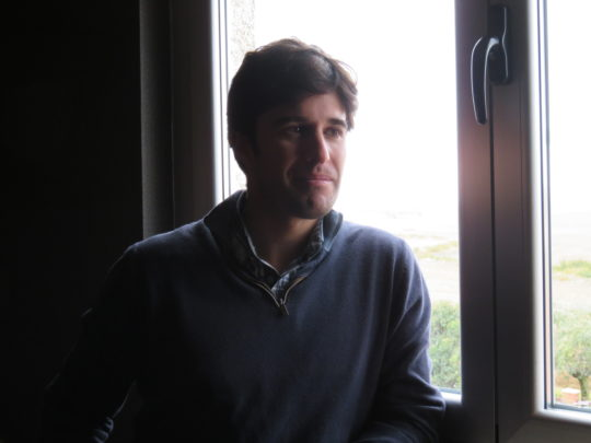 Jaime Martín Sánchez, responsable de la empresa Montaraz (foto: Cuchillo)