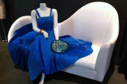 Por favor, no se levante; la moda, presente en el Museo Automovilístico (foto: Cuchillo)