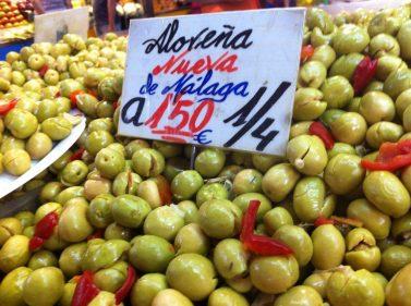 Málaga también sabe a aceituna aloreña (foto: Cuchillo)