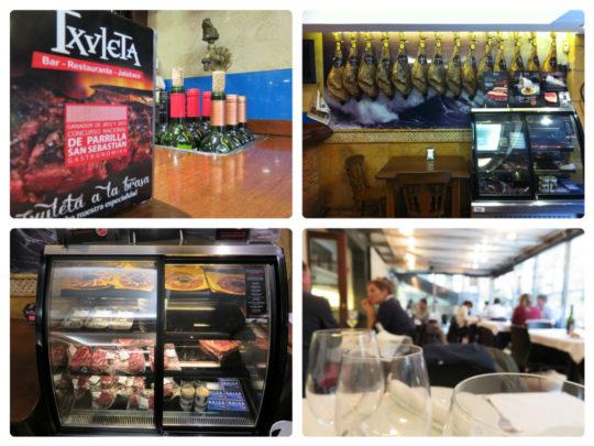 Detalles de distintos espacios del bar restaurante Txuleta (fotos: Cuchillo)