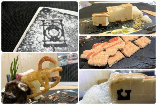 La iconografía de San Sebastián inspira a Mertxe Bengoetxea, cocinera del Azkena (fotos: Cuchillo)